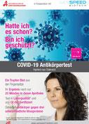 SARS-CoV-2 Antikörper Test Heilquell Apotheke Baden