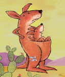 kleine kangoeroe (voor- of meelezen)