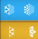 verbind de sneeuwvolkjes met elkaar