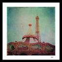 """Bohemia of Paris"" framed art print"
