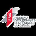 Logo RFAQ Réseau des Femmes d'Affaires du Québec client de Pakolla photographe d'entreprises