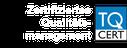 Unsere Fahrschule ist nach dem TQ-Cert Qualitätsmanagement zertifiziert.