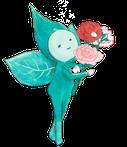 花束と紅茶の妖精