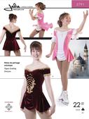 Kaava Jalie 2791 taitoluistelu voimistelu tanssi