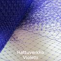 Hattuverkko Birdcage Purple