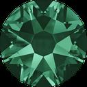Swarovski 2078 205 Emerald Hotfix