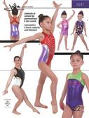 Kaava Jalie 3241 taitoluistelu voimistelu tanssi