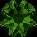Swarovski 2078 260 Dark Moss Green Hotfix