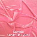 joustava kangas lycra sametti Candy Pink 2023