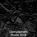 joustava kangas lycra sametti Loimusametti Musta 1016