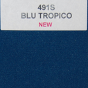 joustava kangas lycra T-Paitalycra Blu Tropico 491S