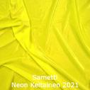 joustava kangas lycra sametti Fluo Yellow 2021