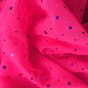 joustava kangas paljetti Verkko Cosmic Shocking Pink Magenta