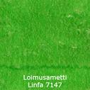 joustava kangas lycra sametti Loimusametti Linfa 7147