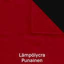 joustava kangas lycra Lämpölycra Rosso punainen 2153