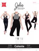 Kaava Jalie 3672 taitoluistelu voimistelu tanssi