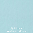 Kova Tylli Pale Turquoise Turkoosi 135cm