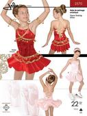 Kaava Jalie 2570 taitoluistelu voimistelu tanssi