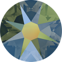 Swarovski 2078 001IRIG Crystal Irigescent Green Hotfix