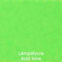 joustava kangas lycra Lämpölycra Acid Lime 7135