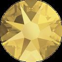 Swarovski 2078 001METSH Crystal Metallic Sunshine Hotfix