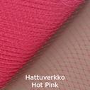 Hattuverkko Birdcage Hot Pink