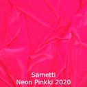 joustava kangas lycra sametti Fluo Pink 2020