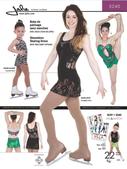 Kaava Jalie 3240 taitoluistelu voimistelu tanssi