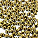 askartelustrassi lasikristalli strassi hotfix gold hematite