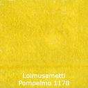joustava kangas lycra sametti Loimusametti Pompelmo 1178