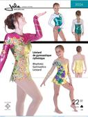 Kaava Jalie 3026 taitoluistelu voimistelu tanssi