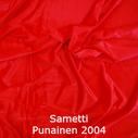 joustava kangas lycra sametti Punainen 2004