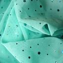 joustava kangas paljetti Verkko Cosmic Seychelles Pale blue