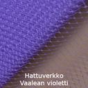 Hattuverkko Birdcage Light Purple