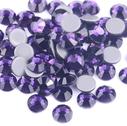 askartelustrassi lasikristalli strassi hotfix purple velvet