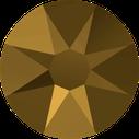 Swarovski 2088 001DOR Crystal Dorado No Hotfix