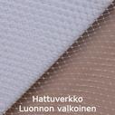 Hattuverkko Birdcage Ivory