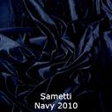 joustava kangas lycra sametti Navy 2010