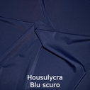 joustava kangas housu lycra Blu Scuro 6007