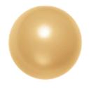 Swarovski 5817 001 Crystal Pearl Gold