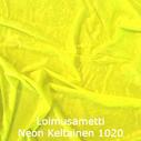 joustava kangas lycra sametti Loimusametti Fluo Keltainen 1020