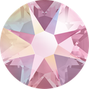 Swarovski 2078 223AB Light Rose Aurore Boreale Hotfix