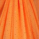 joustava kangas paljetti Verkko Cosmic Oranssi Kupari
