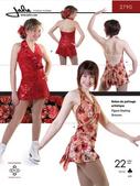 Kaava Jalie 2790 taitoluistelu voimistelu tanssi