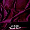 joustava kangas lycra sametti Claret 2005