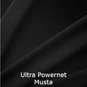 joustava kangas verkko Ultra-Powernet 2001 Black Musta
