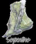Serpentine,  pierre gemme, pierre roulée, pierre brute, galet