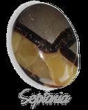 Septaria,  pierre gemme, pierre roulée, pierre brute, galet