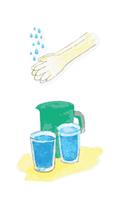 Traer su hidratación respectiva