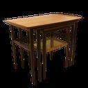 table d'appoint, vintage, table vintage, mobilier vintage, meuble vintage, table d'appoint, meuble vintage, meuble scandinave,